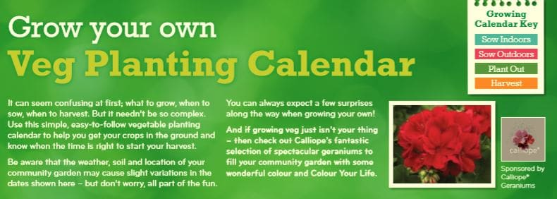 Planting guide snippet