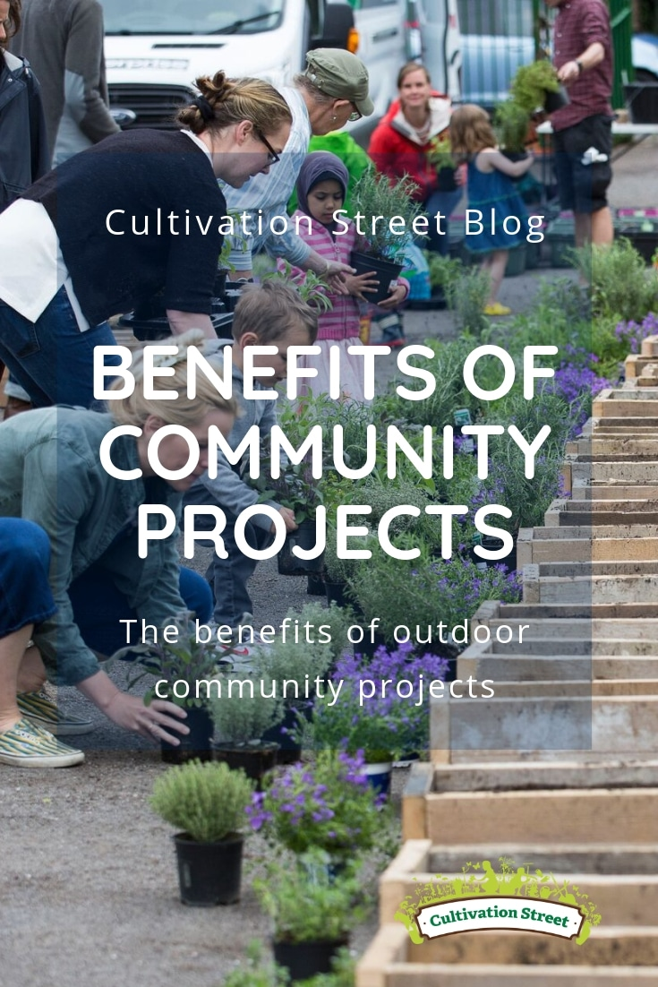 Cultivation Street blog, the benefits of joining outdoor community projects in your local area