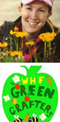 Cath Fletcher, member of Welsh House Farm Green Grafters