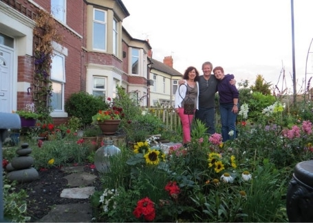 Rockcliffe Avenue Community Front Garden volunteers, entered into the Cultivation Street competition