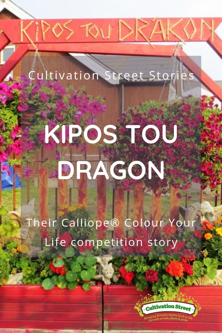 Cultivation Street Story Kipos Tou Dragon, their Calliope® Colour Your Life Story