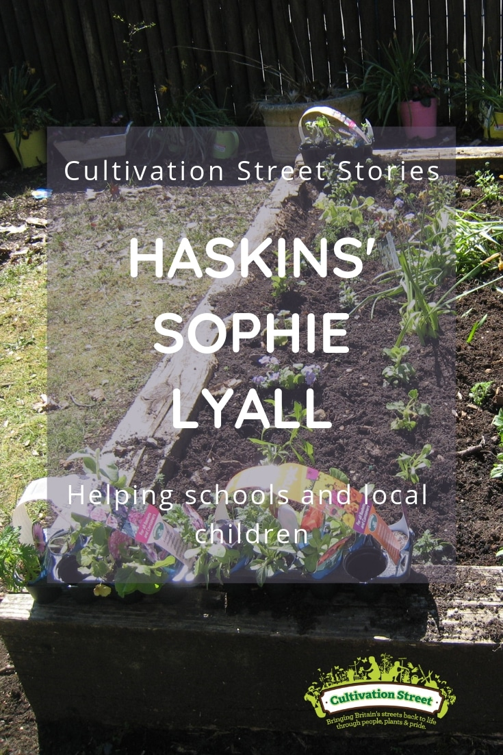 Cultivation Street Stories, Haskins' Sophie Lyall, helping schools and local children