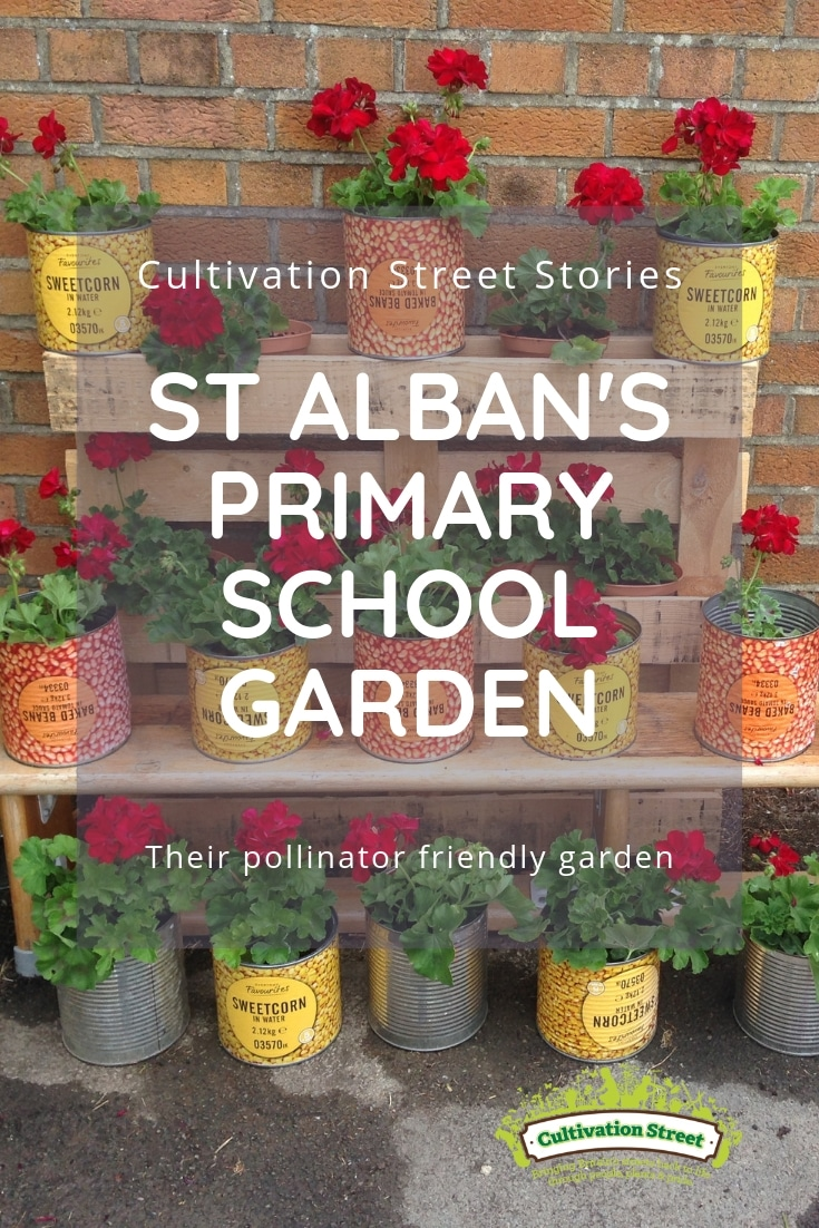 Cultivation Street Story St Alban's Primary School Garden Pollinator Friendly
