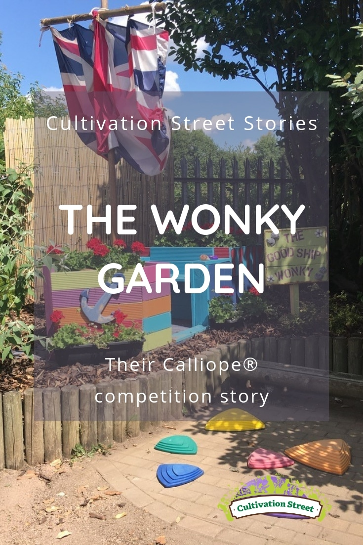 Cultivation Street stories, the Wonky Garden, their Calliope competition story
