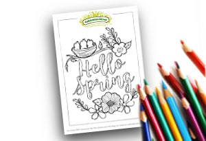 Spring Feature Image Colouring page Cultivation Street (1)