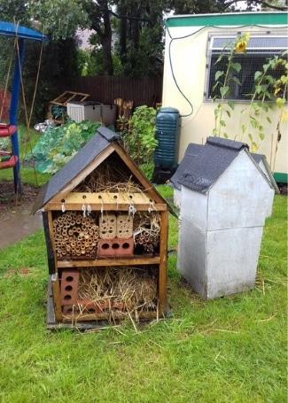 Allens Cross Community Garden bug hotel