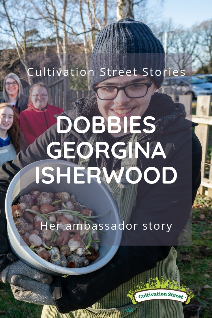 Cultivation Street Stories, Dobbies Georgina Isherwood, Highly Commended in the 2018 Cultivation Street Competition. Read her story.