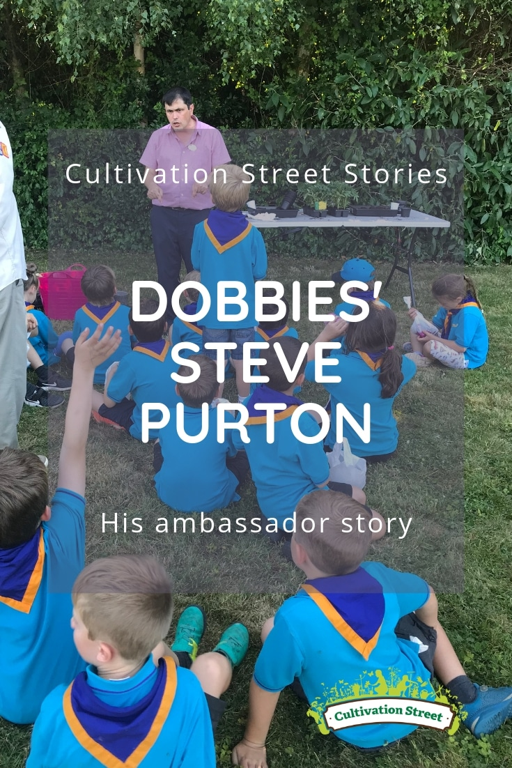 Cultivation Street Stories, Dobbies' Steve Purton, Ambassador the Year - his ambassador story