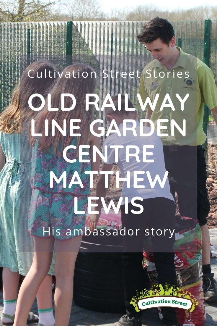Cultivation Street Stories, Old Railway Line Garden Centre Matthew Lewis