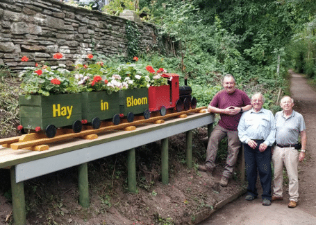 Hay in Bloom's Cultivation Street Calliope competition entry 2018