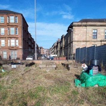 Includeme2 Allotment Angels Cultivation Street garden's before work started