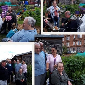 Includeme2 Allotment Angels Cultivation Street garden's volunteers and visitors