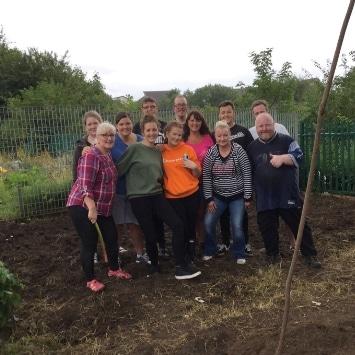 Includeme2 Allotment Angels Cultivation Street garden's volunteers