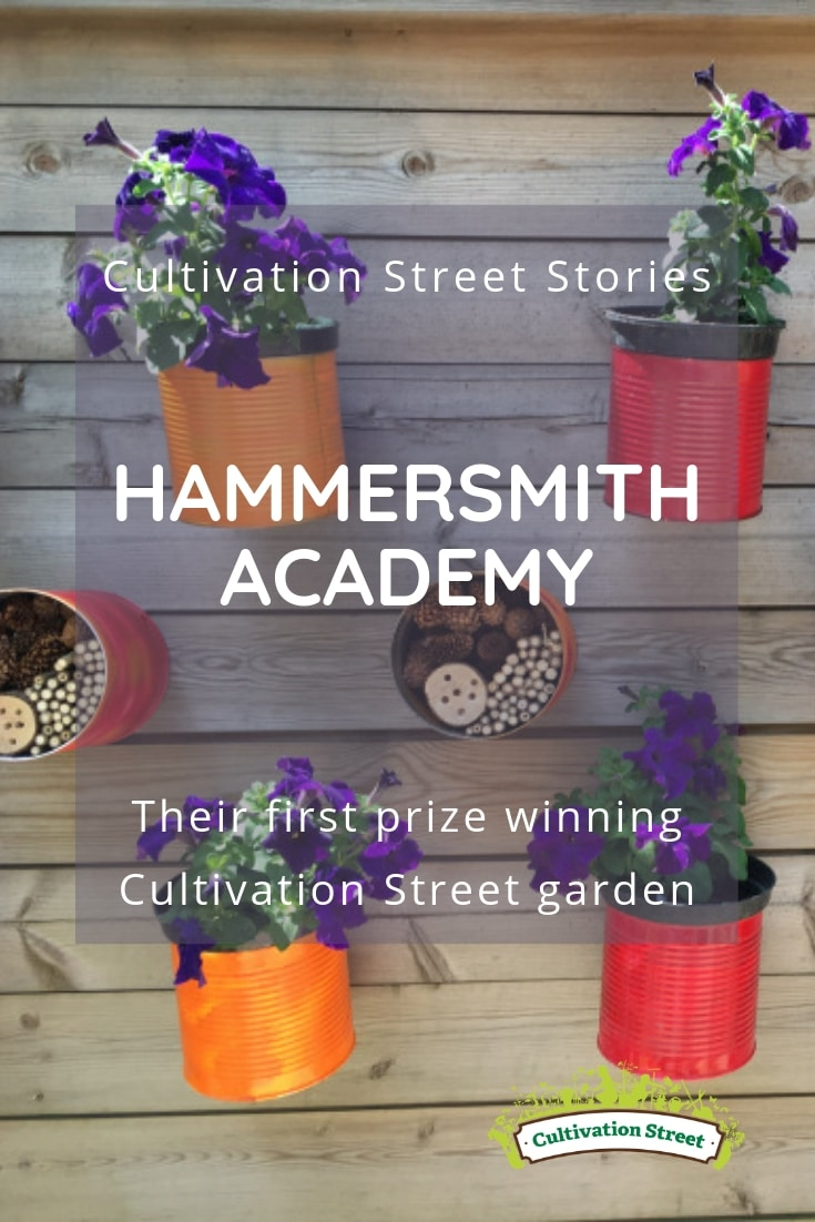 Cultivation Street Stories, Hammersmith Academy and their first prize winning garden