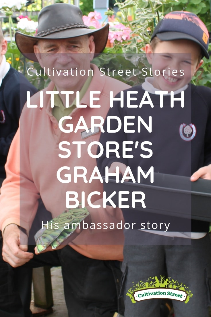 Cultivation Street Stories, Little Heath Garden Store's Graham Bicker, read his ambassador story
