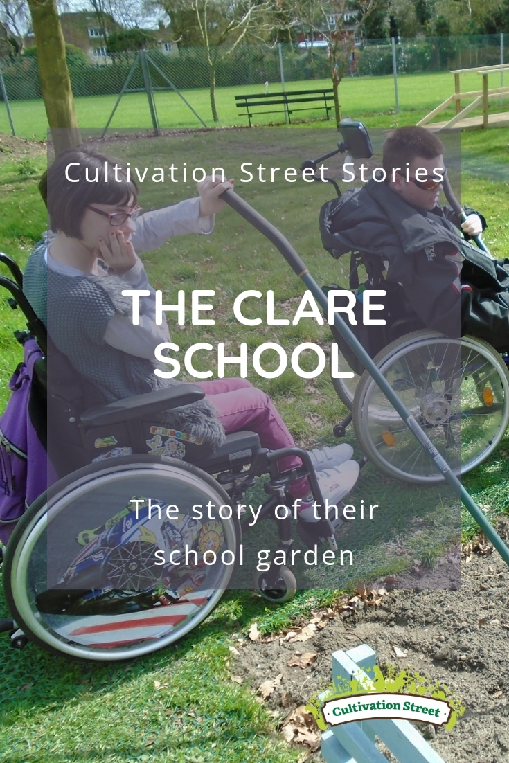 Cultivation Street Stories, The Clare School, the story of their Cultivation Street garden
