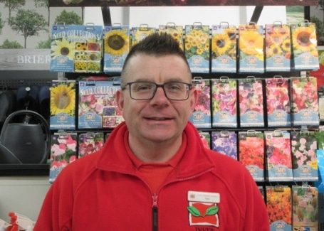 Gary Bissett from Inver Garden Centre, 2018 Highly Commended Cultivation Street Ambassador