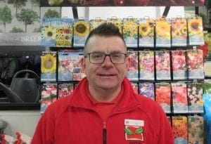 Gary Bissett from Inver Garden Centre, Highly Commended Cultivation Street Ambassador