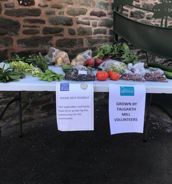 Telgarth Cultivation Street produce table
