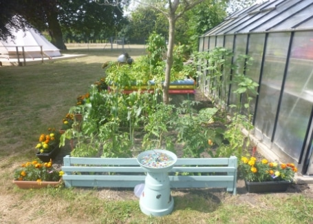 The Clare School's Cultivation Street garden without boundaries, accessible to all