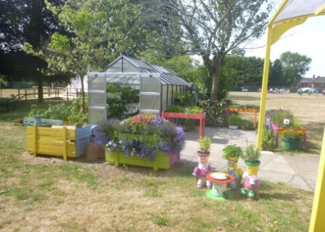 The Clare School's greenhouse, the story of their Cultivation Street garden without boundaries, accessible to all