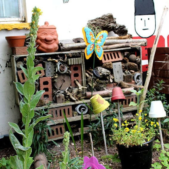 Bug hotel activity cultivation street community school gardens network images 9