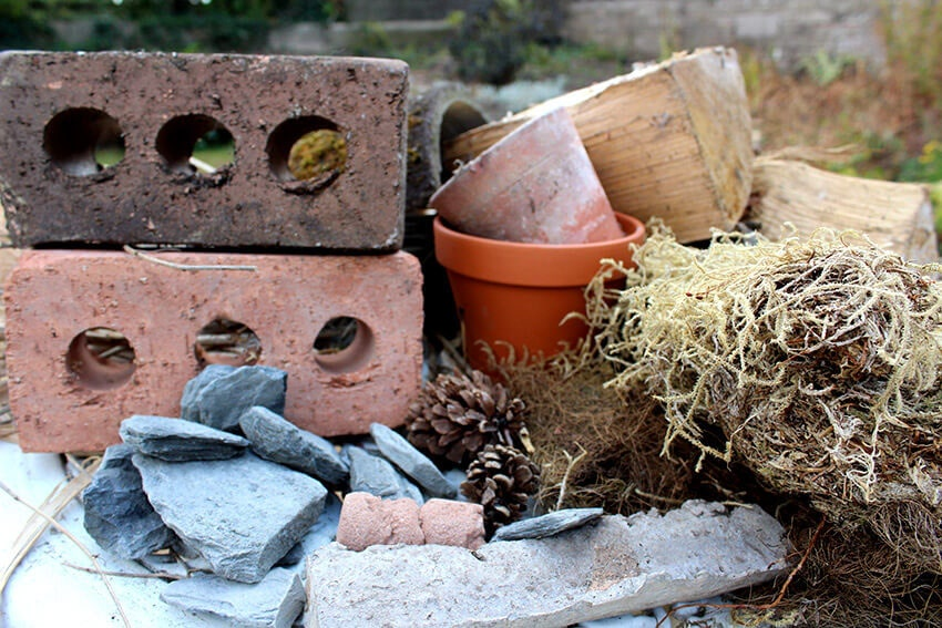 Materials Bug hotel activity cultivation street community school gardens network images 1