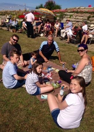 Sandown Castle Community Garden picnic fundraising for their Cultivation Street garden