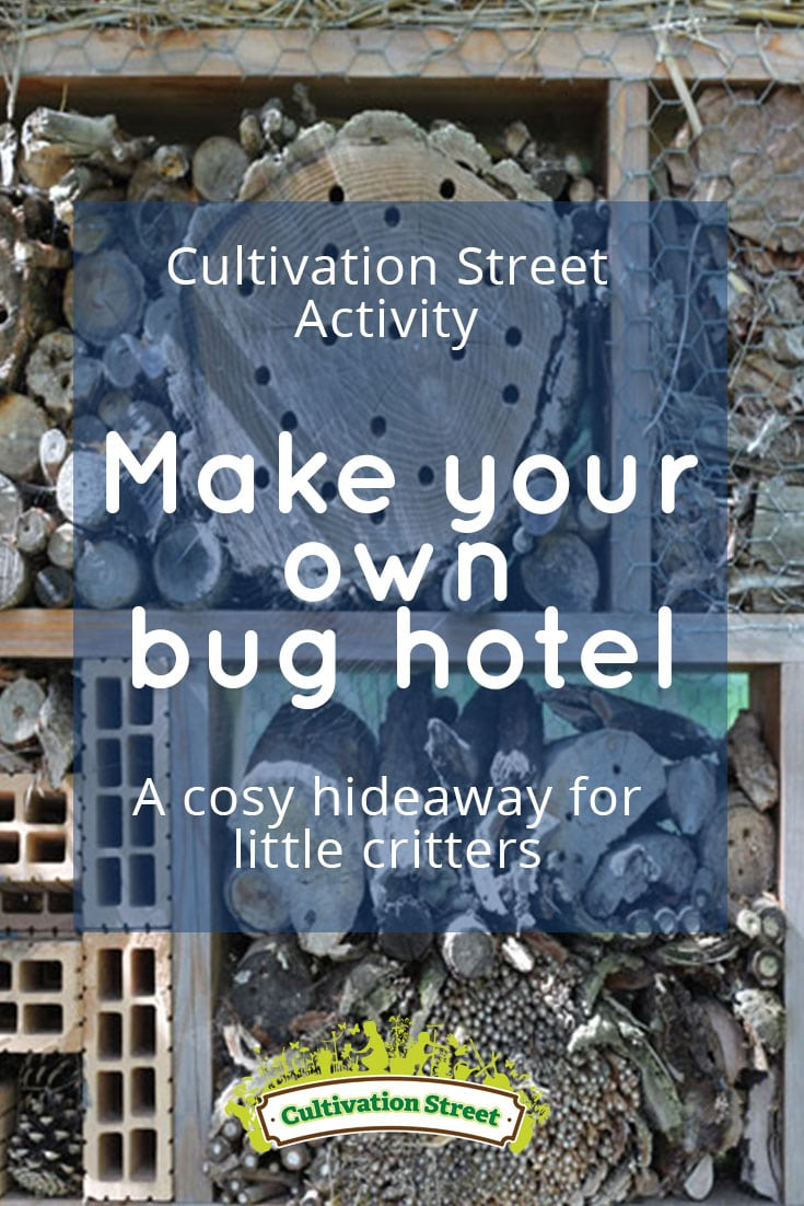 pin 4 Bug hotel activity cultivation street community school gardens network images 1