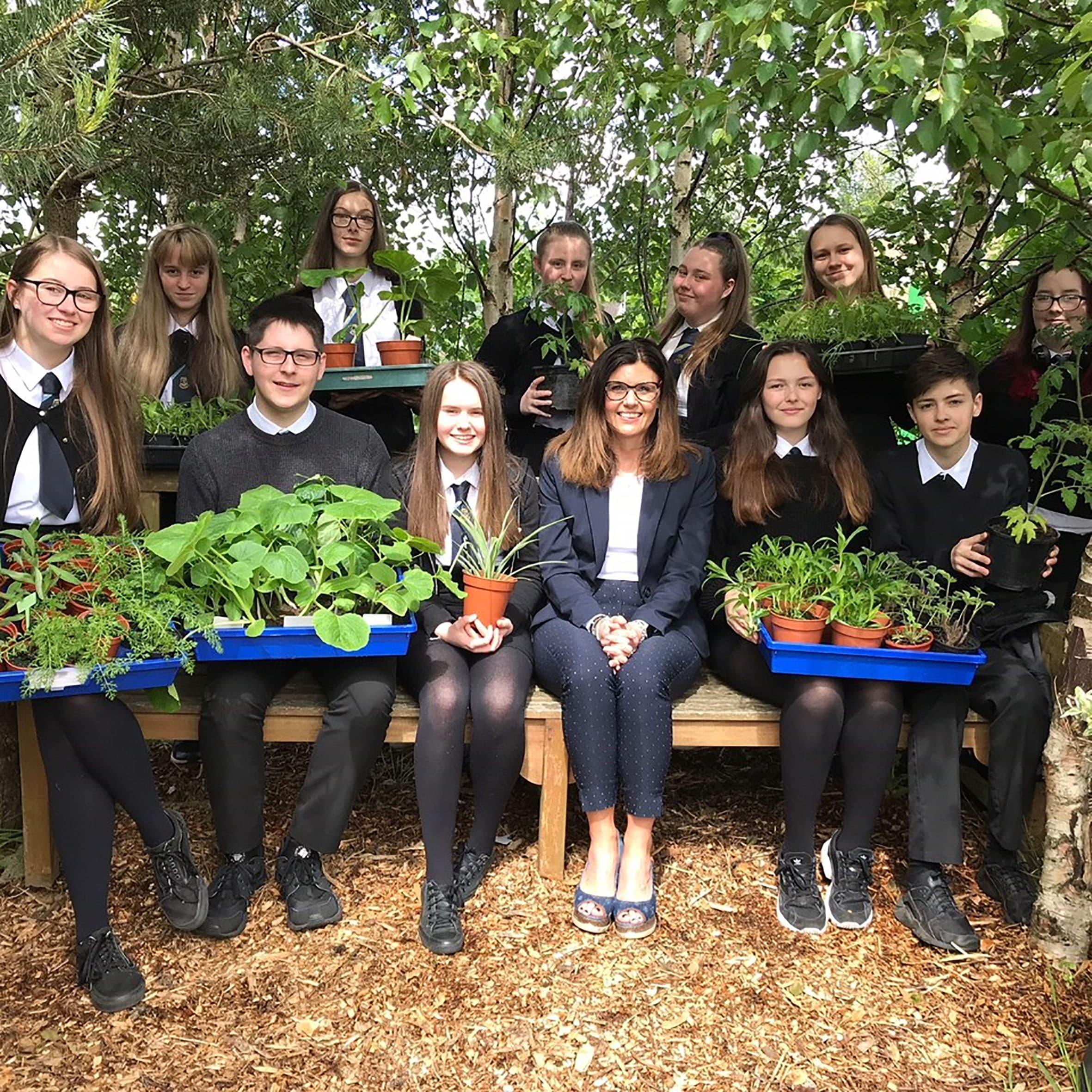 Craig Hepburn Menorial Garden Linwood High School 2019 Consent Given Image 4