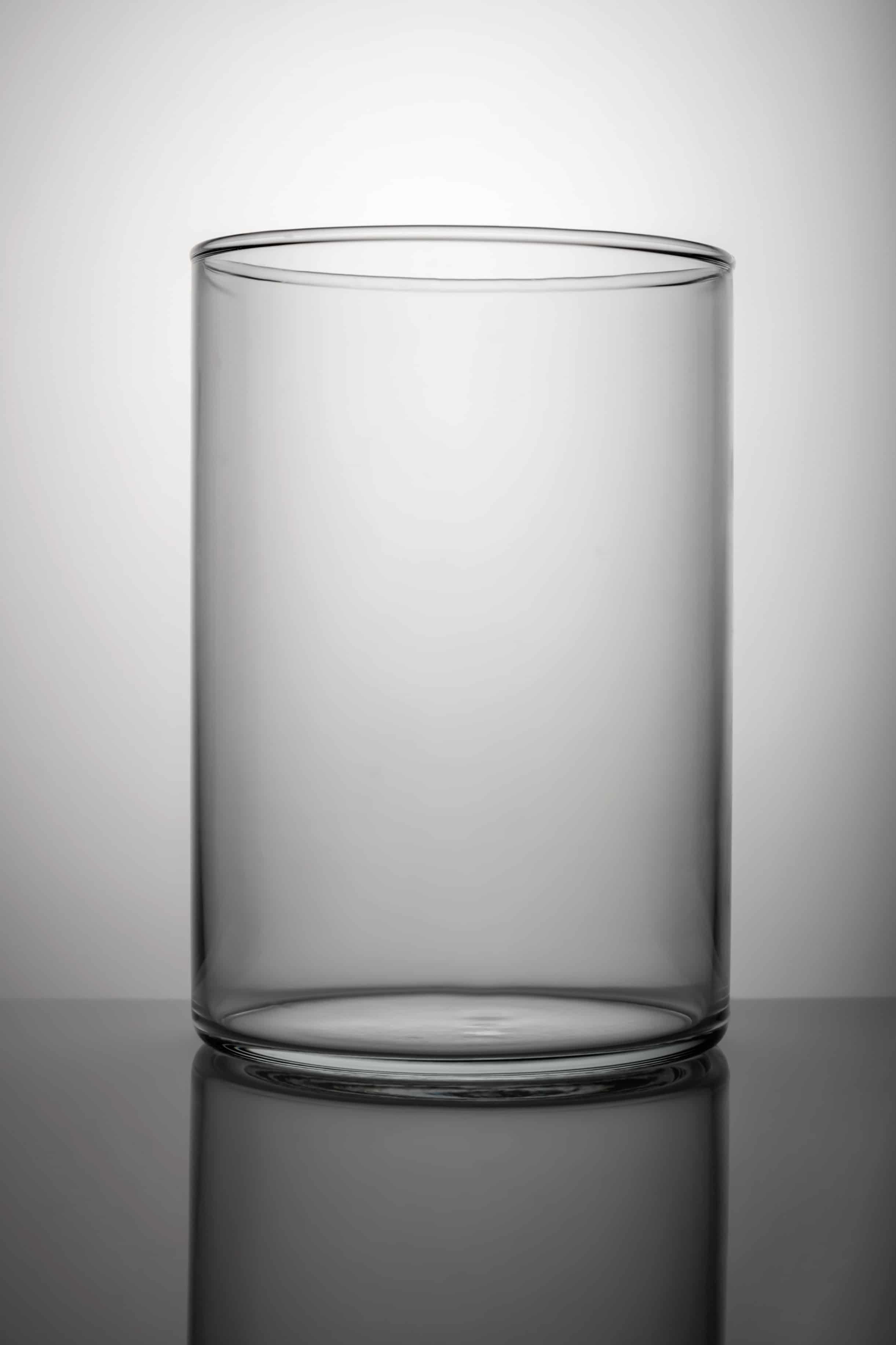 empty glass vase