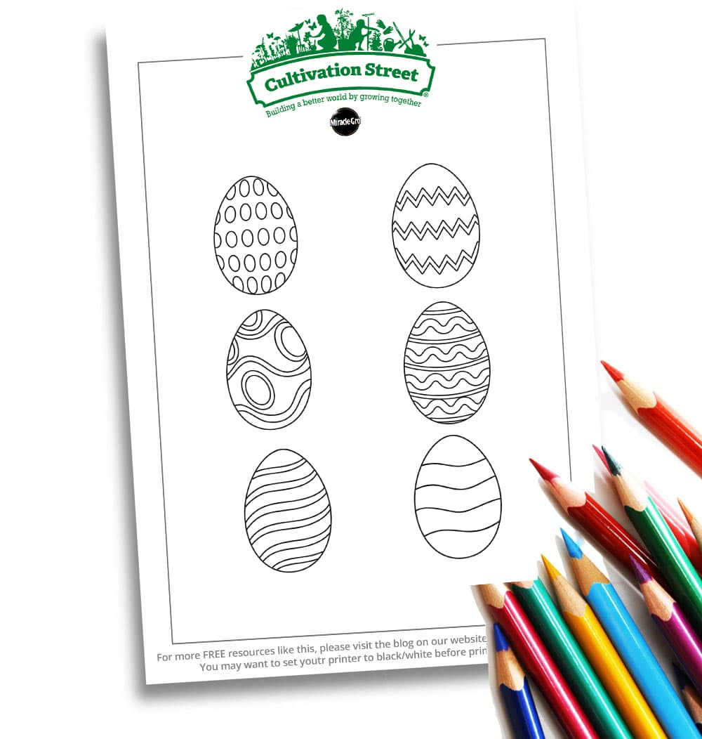 Website Easter Egg Pattern