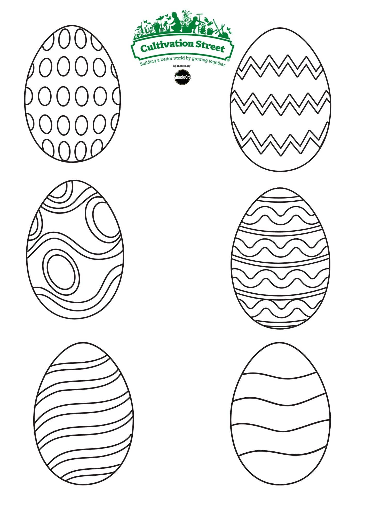 easter eggs Pattern