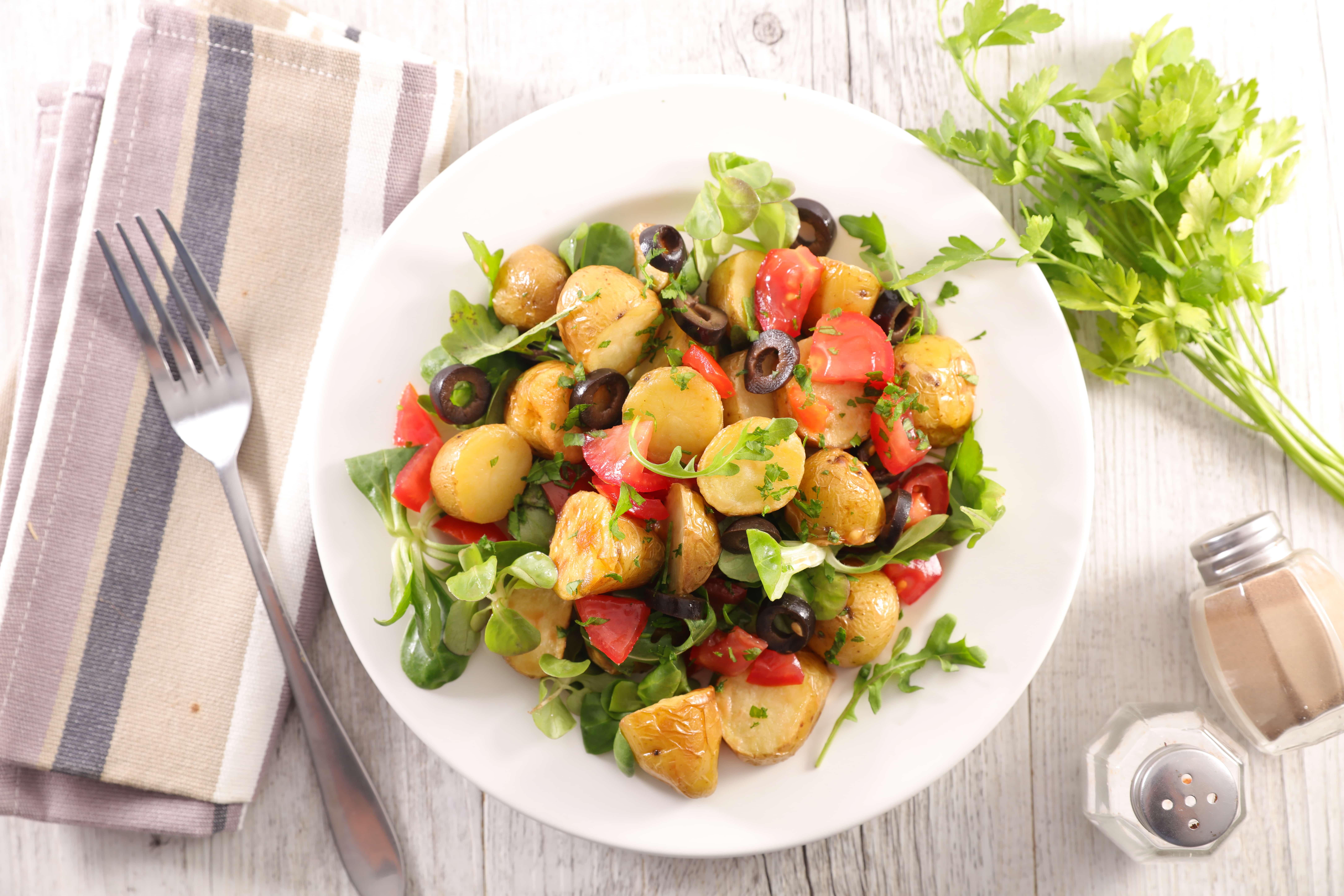 mixed potato salad