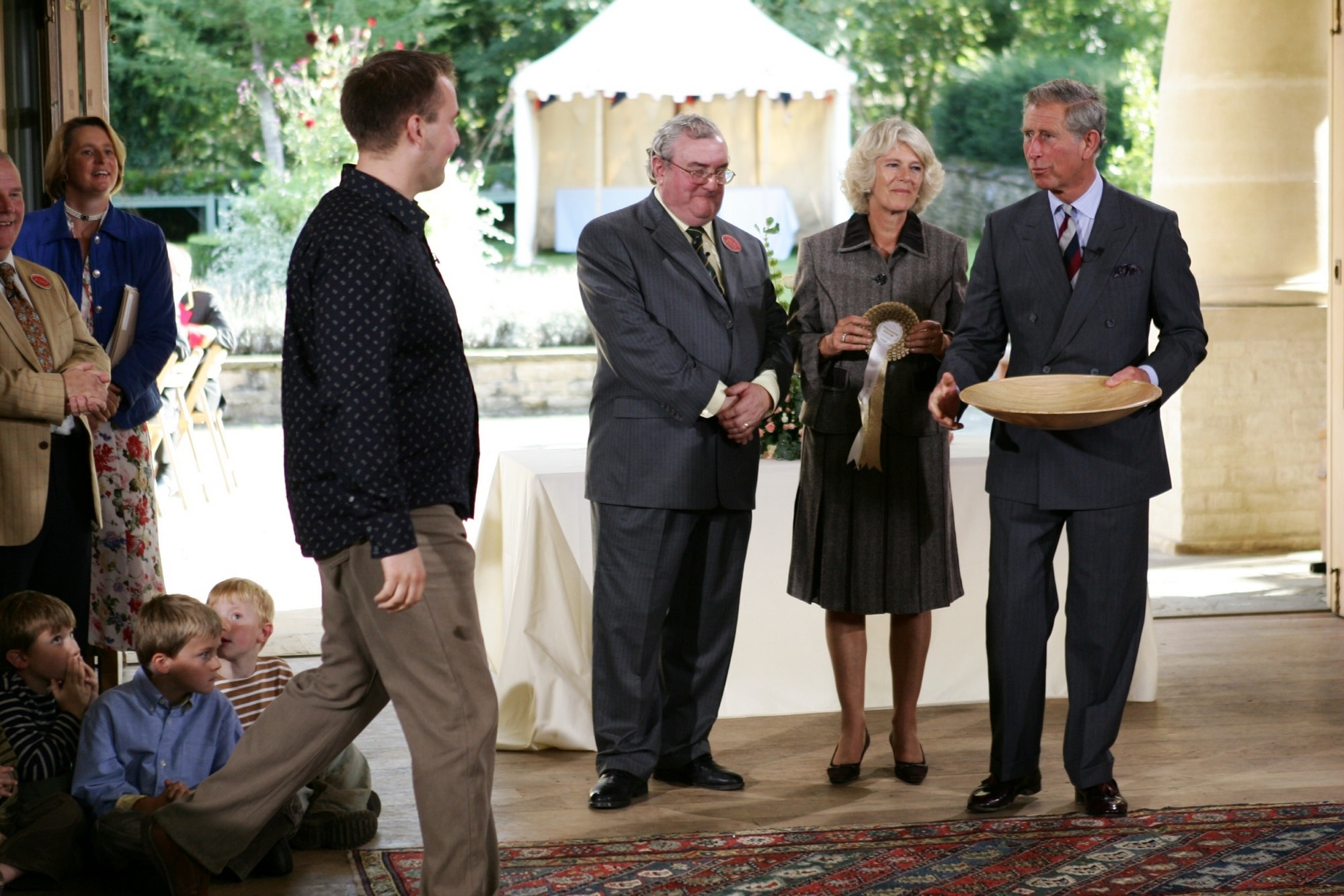 Kevin fortey with Prince Charles and Camilla Copyright Paul Burns Photography Royal Photographer