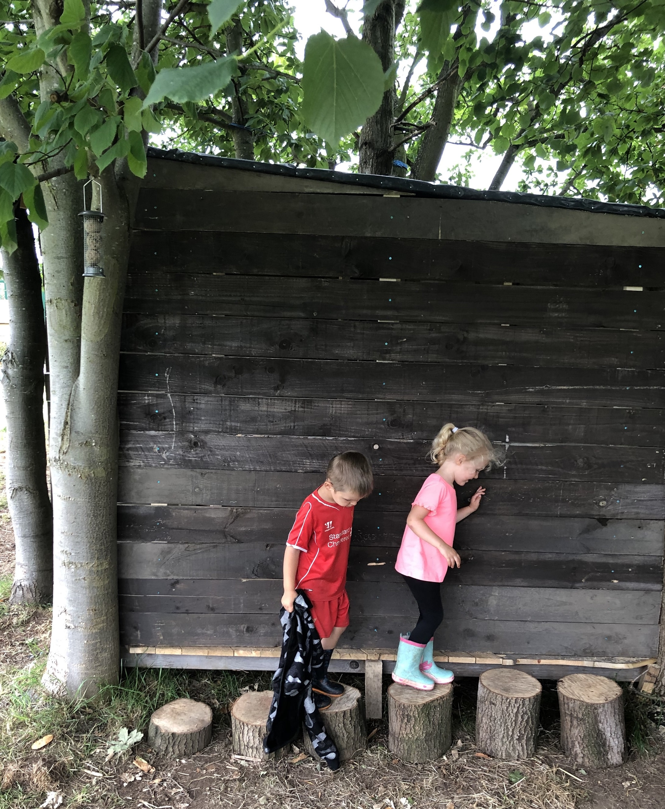 Noah-Evelyn-in-the-Woodland-Play-Area