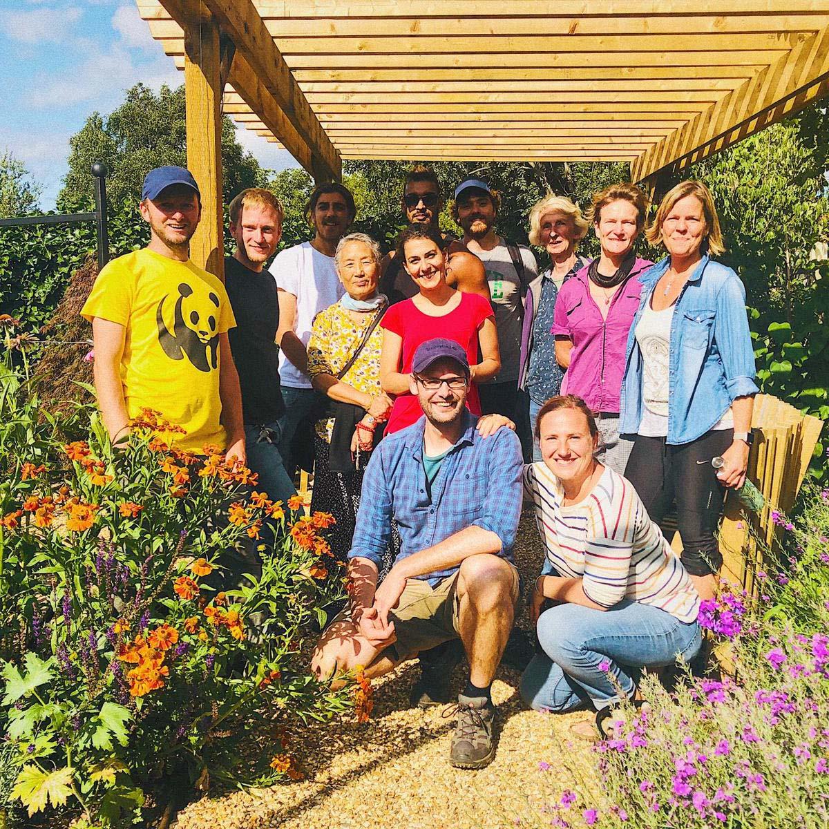 Clitterhouse Farm Garden - Winner South