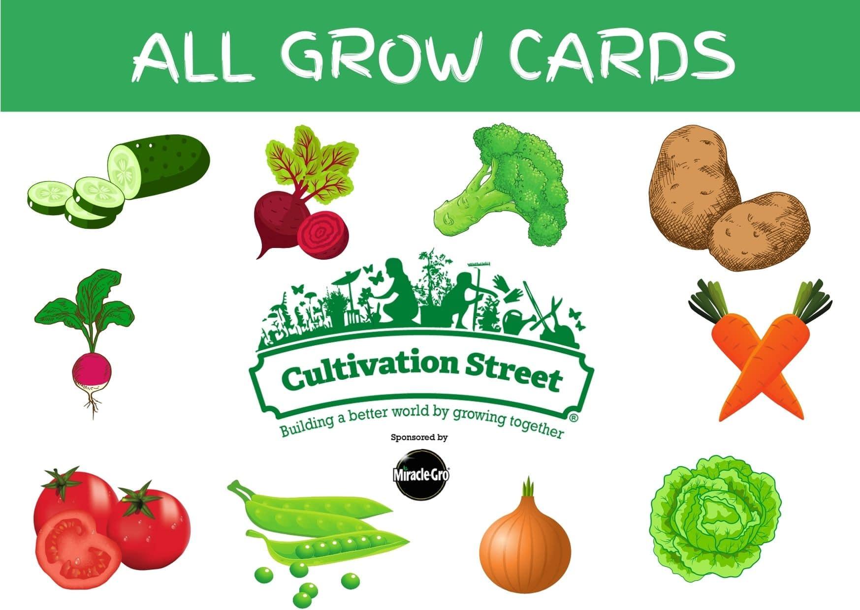 all grow cards