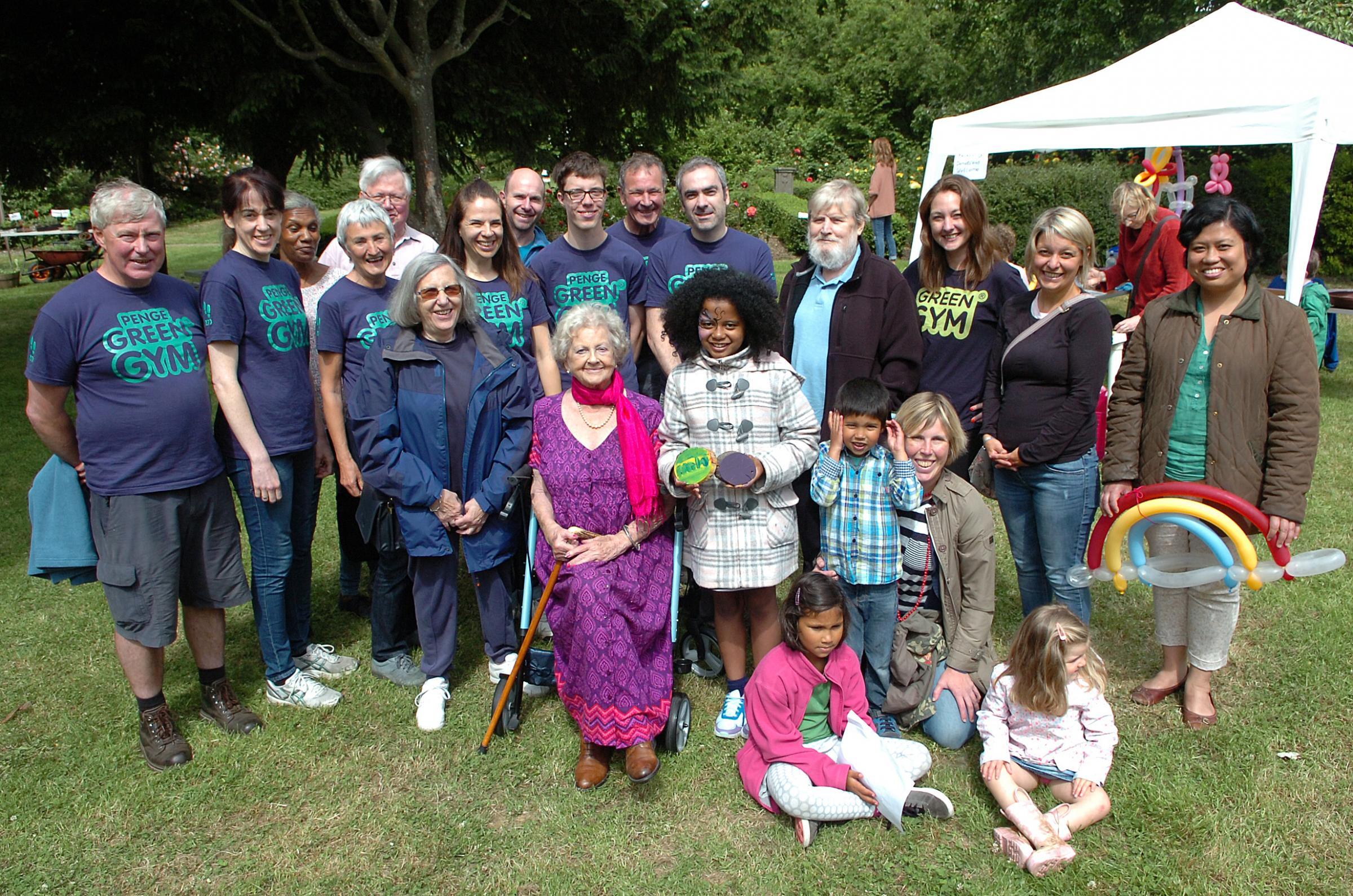 Winsford Gardens Penge Green Gym - 2nd Best Community Garden